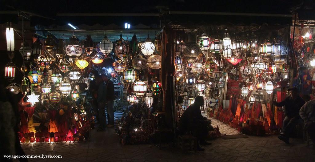 Vendeur de lanternes