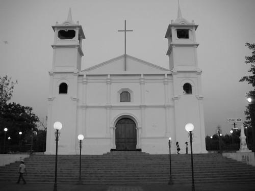 Usulután Cathedral, El Salvador.