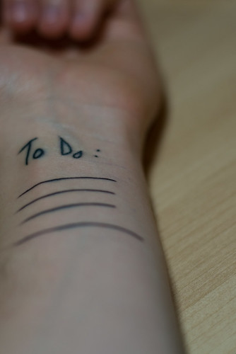 to do list tattoo