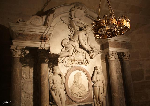 Gisant de Louis XIV : je mattendais à quelque chose de plus grandiose...