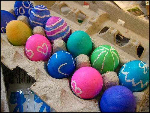Easter eggs - traditional