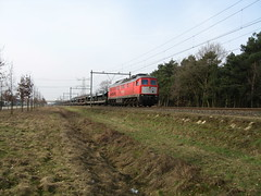 DB Schenker Railion Br232 ludmilla diesel locomotive (giedje2200loc) Tags: train tren diesel loco db locomotive loc trein lok treinen ludmilla railion schenker br232