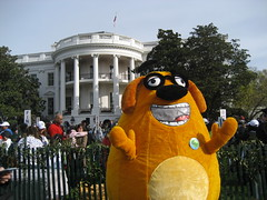 Ruff Ruffman at the White House