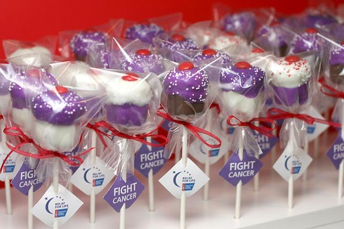 Cupcake Pops to Fight Cancer