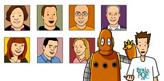 The BrainPOP UK team avatars
