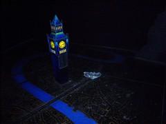 Big Ben and London on Peter Pan's Flight (Castles, Capes & Clones) Tags: disneyland peterpan fantasyland peterpansflight