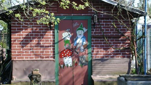 malowane drzwi