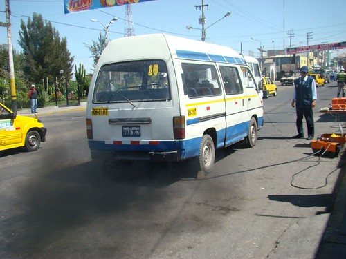 Less than 13% of Arequipa vehicles meet emissions limits