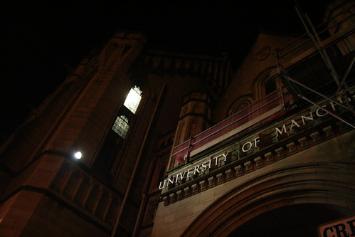 Manchester by Night - University of Manchester