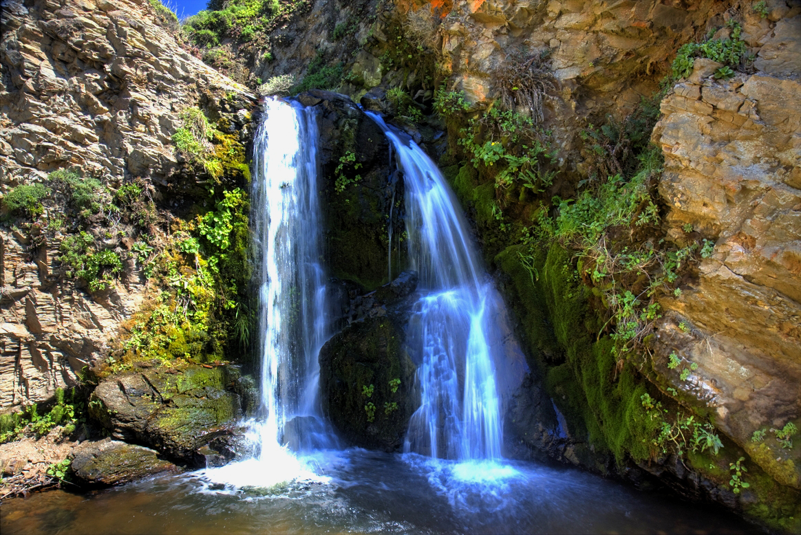 hdr of upper alamere falls
