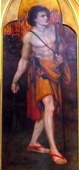 Boy David, Llandaff (robin.croft) Tags: painting triptych williammorris kingdavid dantegabrielrossetti rosetti preraphaelites