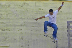 Flying (jkeenan501) Tags: oregon flying lift skateboarding air off liftoff astoria boarding gettingair