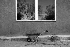 (Abu Yotam) Tags: bw public yard photoshop april 2009 wheelbarrow photostock einiron abuyotam gettyoption