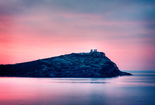 first light at sounion