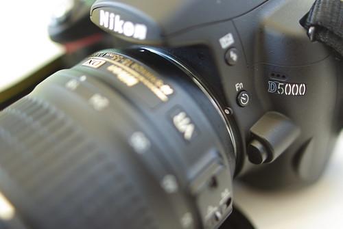 Nikon D5000 (by HAMACHI!)