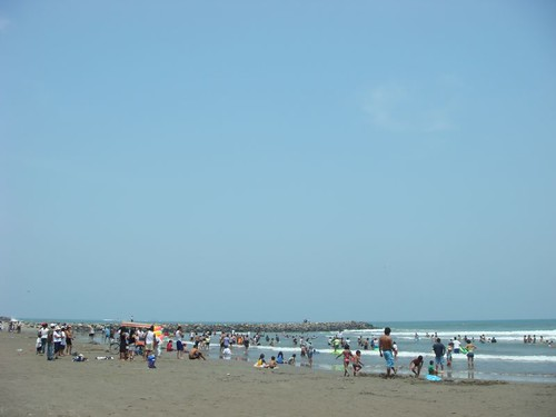 Playa Mocambo, Veracruz - Gulf of Mexico.