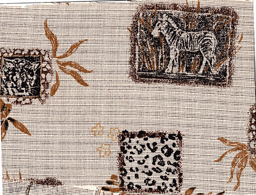 Safari Natural Print