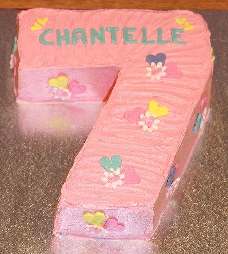 Chantelles Number 7 Cake