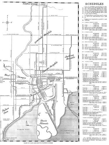 Ta s street car system 1940 s map http www flickr com photos js