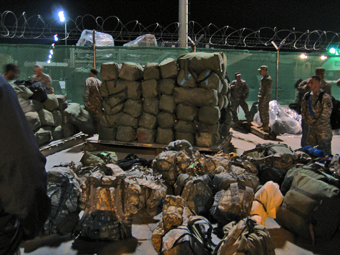 Bag Pallet in Bagram
