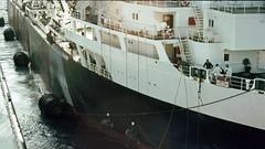 """Macoma"" ""Darina"" (aad.born) Tags: sea 1969 ship asahi ships shell crew oil tanker crude tankers oiltanker officers  35mmslide mclass asahipentax oiltankers crudeoil  darina lymebay dclass vlcc  scannedtransparency crudeoiltanker shelltanker shuttletanker radioofficer etatmajor lightering  helderline:tanker=66 shelltankers macoma stnbv helderline:tanker=307  asahipentaxspotmatic2 aadborn"