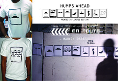 Humps Ahead limited edition t-shirts