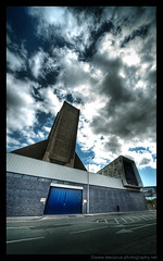 Concrete Monster (Lee Carus) Tags: liverpool concrete vent sony sigma tunnel costco ugly alpha 1224 merseytunnel a900