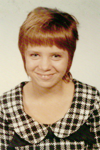 School pic of mom