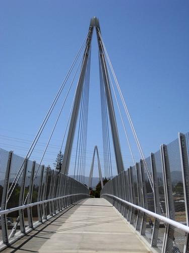 Cupertino Mary Ave. Bike Bridge