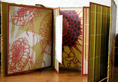 Decorative Fold-Out Album