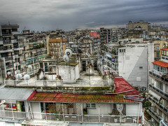 City Jungle (Faddoush) Tags: city nikon cityscape chaos rooftops hellas greece jungle thessaloniki hdr salonica makedonia   bluebirdmarie faddoush