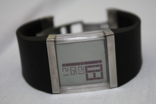 Crystal Clear Digital Watch