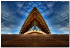 Sydney Opera House (Sam Ilić) Tags: light sky house color building art architecture clouds canon opera soft sydney australia nsw operahouse hdr orton sydneyoperahouse photomatix explored 450d canon1022mm3545