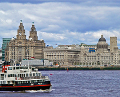 Mersey Ferry Competition Entry (ScouseMouse2008) Tags: ferry liverpool threegraces mersey pierhead merseyferrycompetitionentry