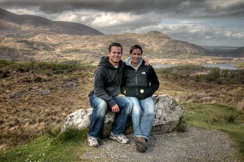 Jeff and Stef in Killarney National Park