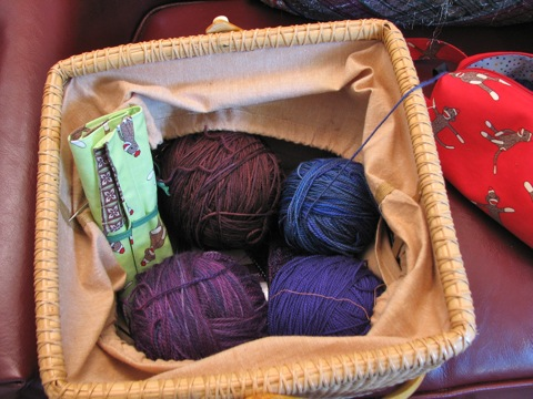 Purple Sock Yarns