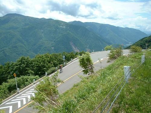 白山スーパー林道サイクリング