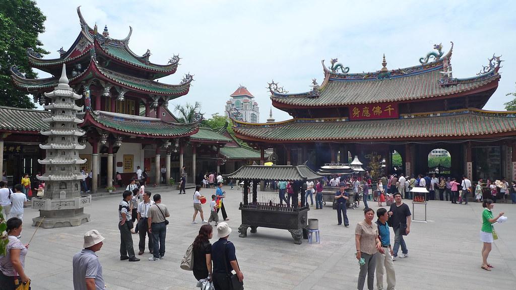 Inside Nanputuo Temple