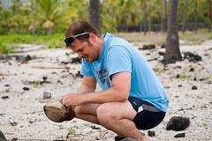 Let's take a look. (dedge555) Tags: hawaii nikon coconut josh bigisland nikkor 2470mm puuhonuaohonaunau puuhonua honaunau d700 nikond700 2470mmf28g afsnikkor2470mmf28ged hawaii2009 bigisland2009