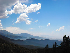San Bernadino Mountains (Hayden Yates) Tags: blue mountains color fog clouds digital landscape photography vista