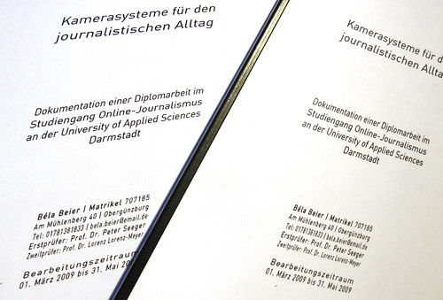 Diplom und Quellen