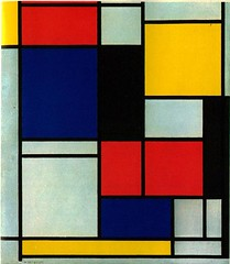 Mondrian, Piet (1872-1944) - 1921-25 Tableau II (RasMarley) Tags: 1920s abstract dutch painter 20thcentury mondrian 1921 pietmondrian abstractexpressionism neoplasticism tableauii