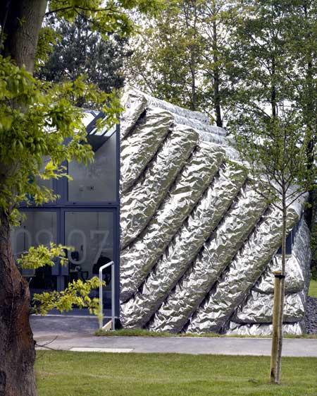 Tinfoil house