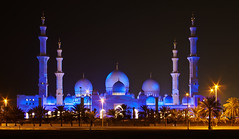 Grand Mosque - a.k.a. Sheikh Zayed Mosque (Jim Boud) Tags: digital canon eos rebel purple muslim uae mosque symmetry explore abudhabi dome unitedarabemirates xsi grandmosque alnahyan 450d jimboud sheikhzayedmosque jrbxom jamesboud jamesboudphotoart