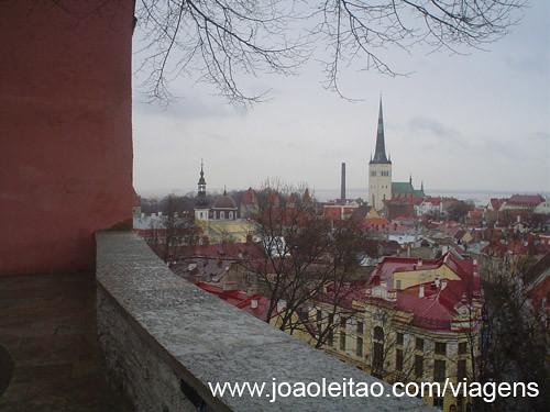 Centro Histórico de Tallinn na Estónia