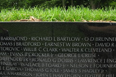 Washington DC: Vietnam Veterans Memorial Wall (wallyg) Tags: grass wall washingtondc dc districtofcolumbia memorial nps name landmark vietnam nationalmall dcist vietnammemorial names nationalparkservice warmemorial vietnamveteransmemorial inscription memorialpark mayalin constitutiongardens vietnamwarmemorial vietnamwar vietnammemorialwall vietnamveteransmemorialwall nationalmemorial nationalregisterofhistoricplaces nrhp usnationalparkservice nationalmallandmemorialpark aia150 usnationalregisterofhistoricplaces nmem panel54e mayayinglin nationalmallmemorialparks usnationalmemorials