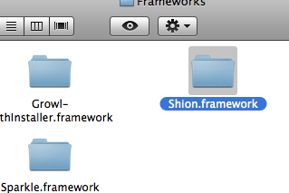 Shion.framework