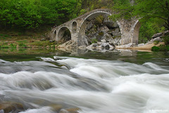 , Devil's Bridge , Arda river , Bulgaria (.:: Maya ::.) Tags: mountain green eye nature landscape maya outdoor hiking bulgaria bulgarie hobbie bulgarien rhodope      mayaeyecom mayakarkalicheva  wwwmayaeyecom