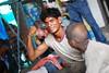 Outer Strength (amirjina) Tags: poverty street new red india station train children asia cross muscle delhi south homeless railway crescent orphan amir strength flex mira vis jina nair streetkid salaam balaak