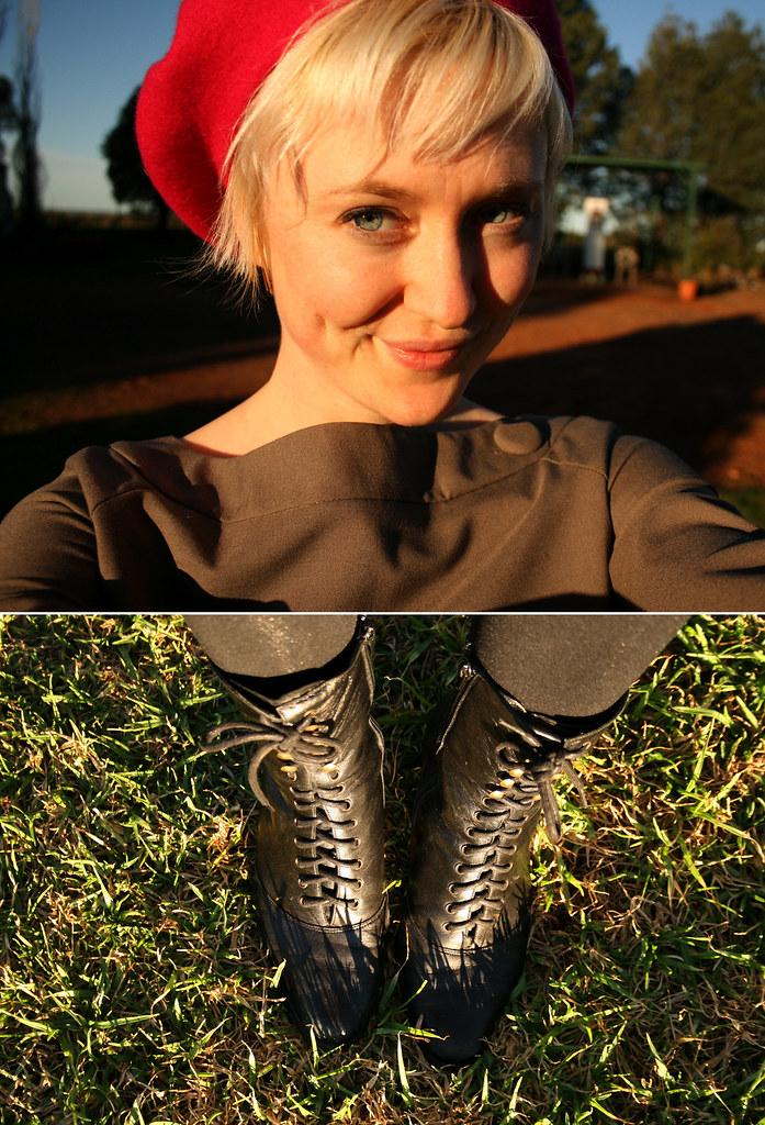 beret & boots